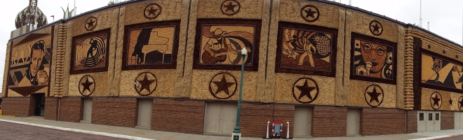 Exterior view of the Corn Palace