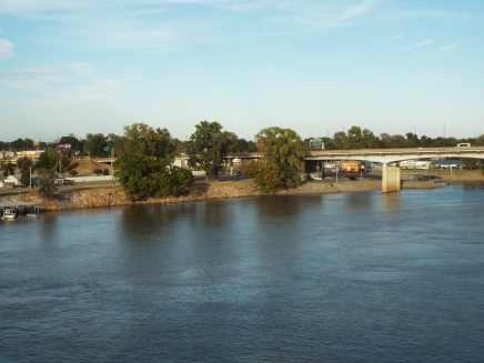 Arkansas River in Little Rock