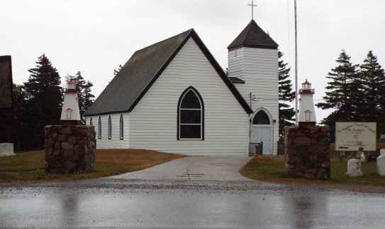 Cabot Trail: Anglican Church