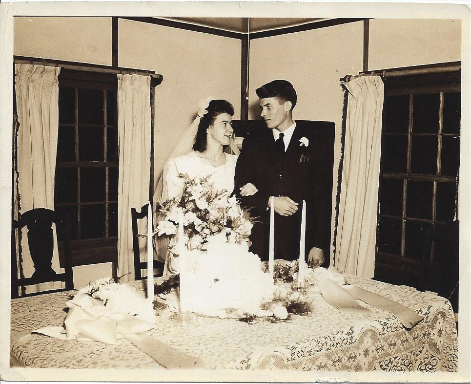 Braxton and Pam Coates wedding